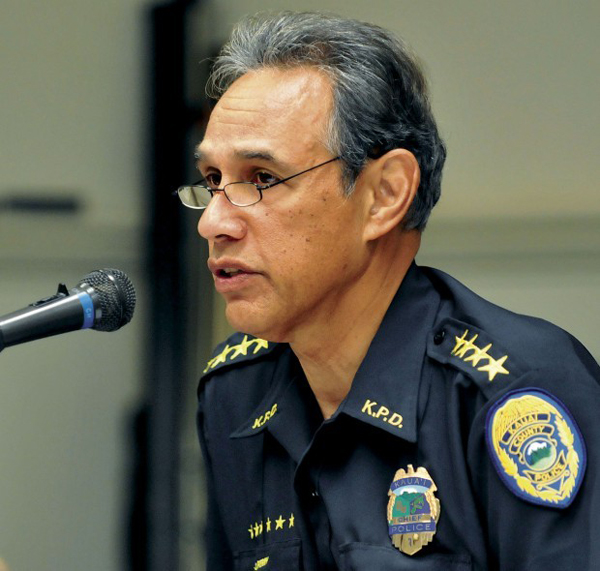 Kaua'i Chief of Police Darryl Perry leads a corrupt and incompetent force