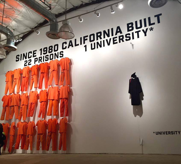 Since 1980, California has built 22 prisons and one university