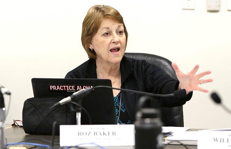 Hawaii State Senator Roz Baker