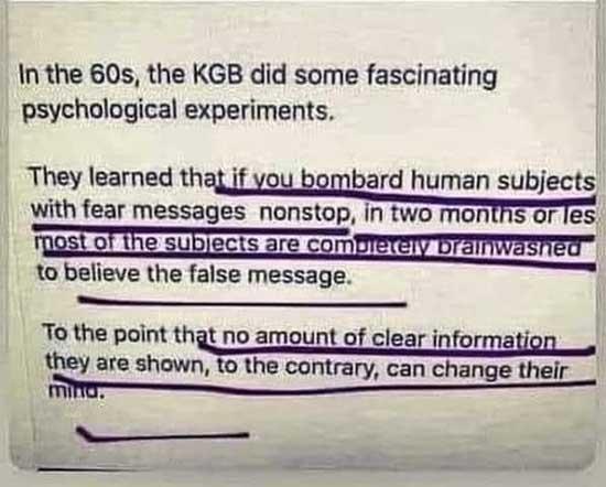 KGB Experiments