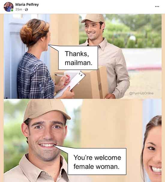 Be Sure to Thank Your Postal Carrier