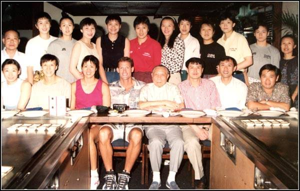 Chinese Women's Olympic Volleyball Team, circa 1996. Silver Medal Winners