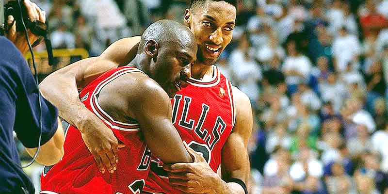 Dramatically sick Jordan took to the court for Game 5 of 1997 NBA Finals between Chicago Bulls and the Utah Jazz