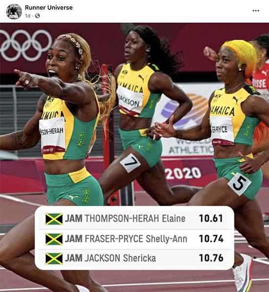 Jamaican Women Managed Olympic Pressure