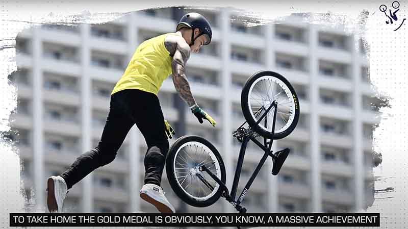 Australian Logan Martin becomes Olympic Champion in BMX Freestyle