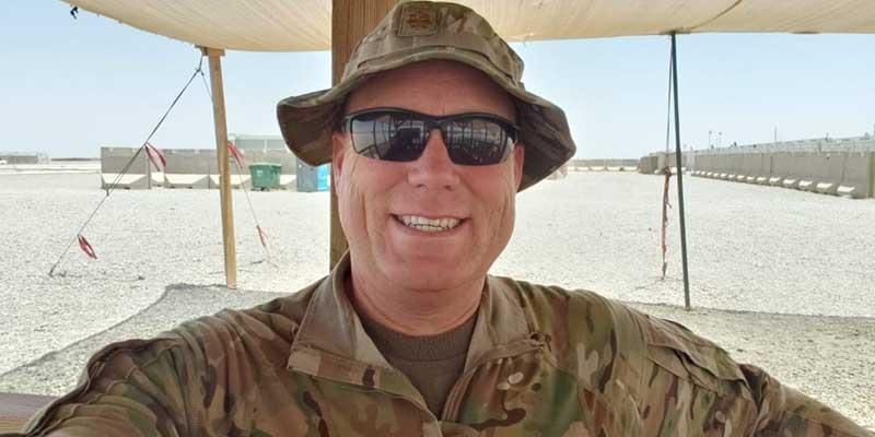 Mike Pratt, career military officer, loves the bomb