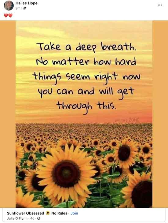 Take a Deep Breath. You will get through this.